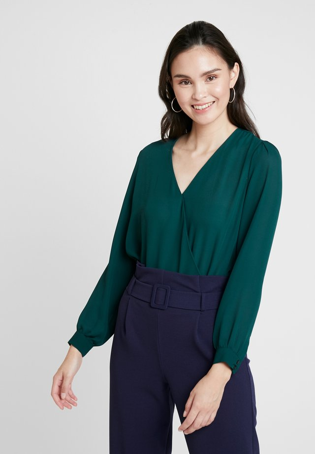 BODY BLOUSE - Blouse - green