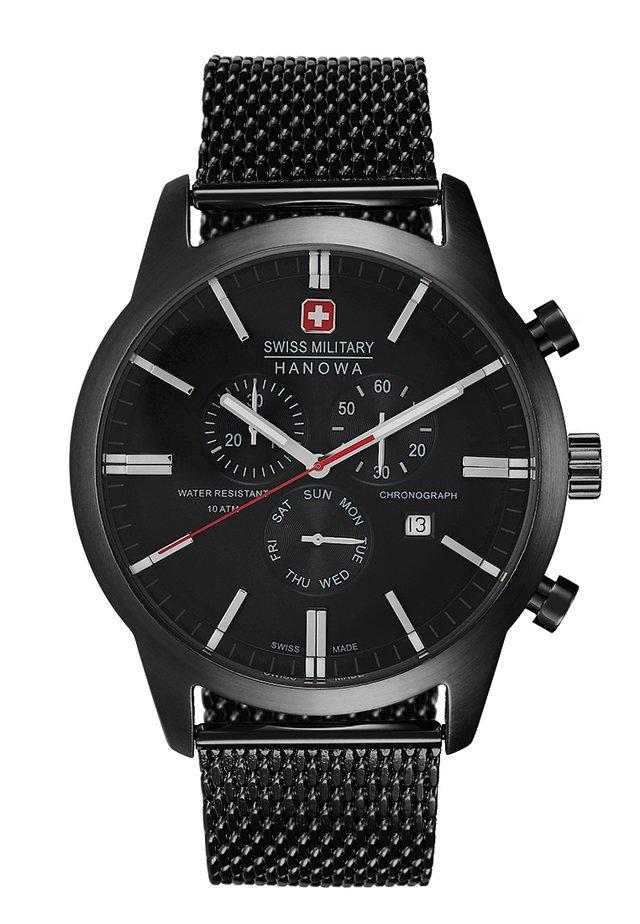 CLASSIC - Kronograf - schwarz