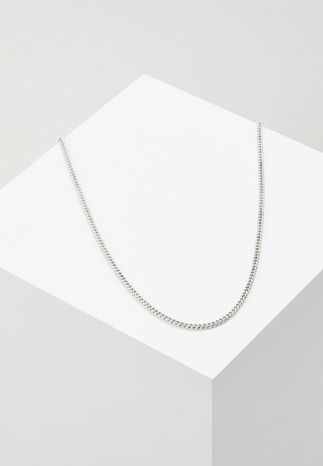 LUXE SHORT CHAIN - Necklace - silver-coloured