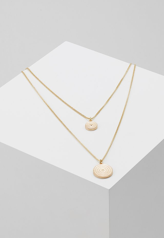 PCMACIE COMBI NECKLACE  - Smykke - gold-coloured