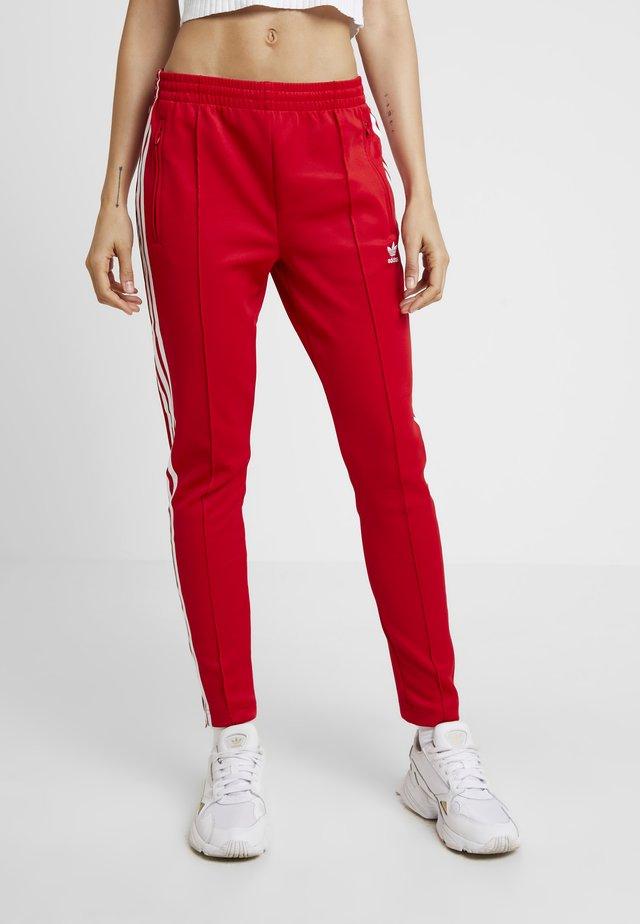 Spodnie treningowe - scarlet