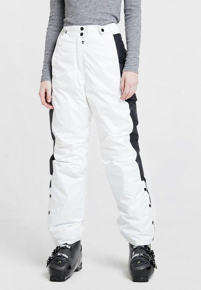 SKI SALLOPETTES - Trousers - white