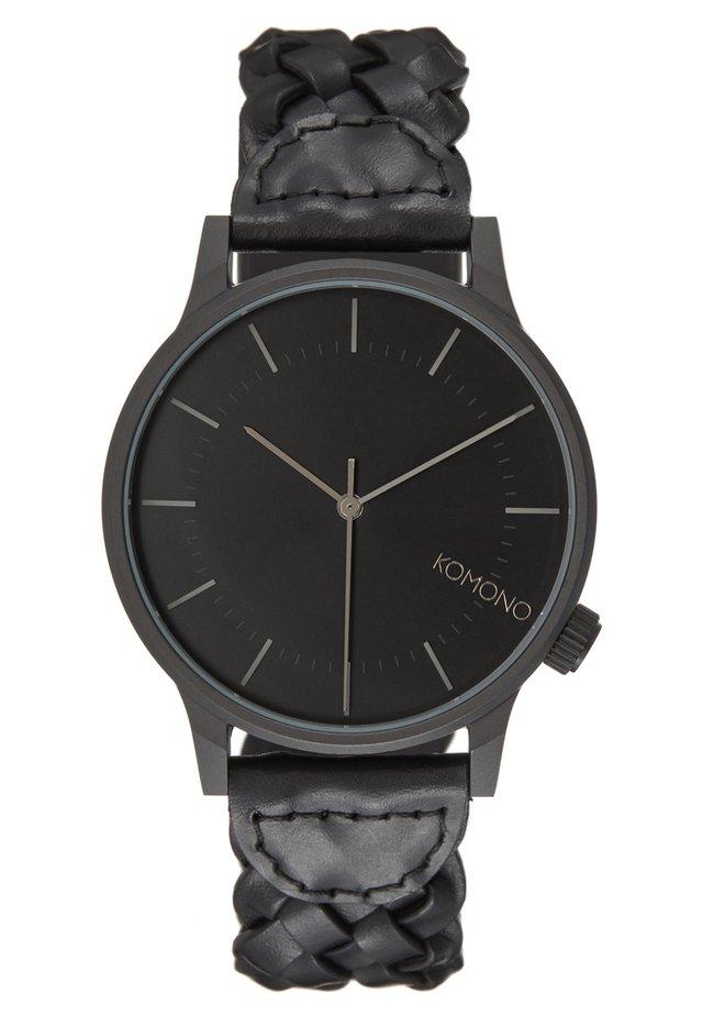 WINSTON WOVEN - Watch - black