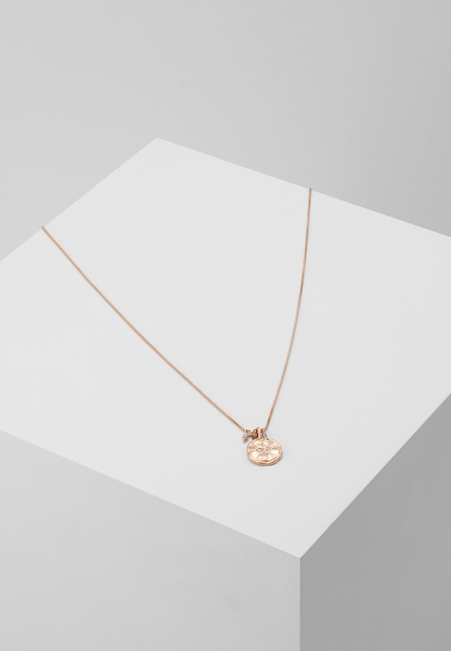 NECKLACE MYA - Ketting - rosegold-coloured