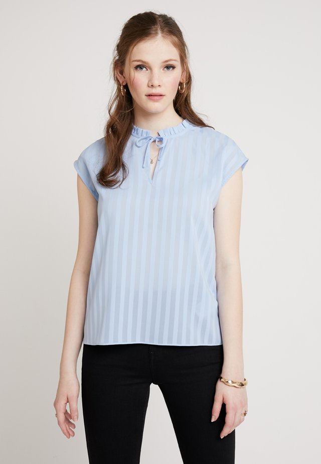 BYHEATHER - Blouse - sky blue