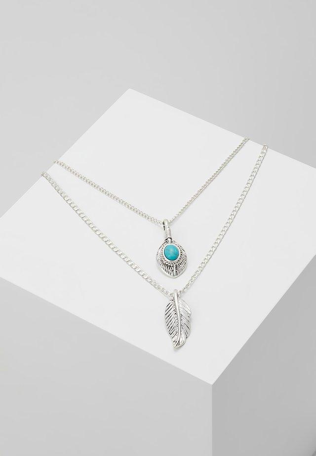 PENDANT AND LOCKET MULTIROW  - Halskette - silver-coloured