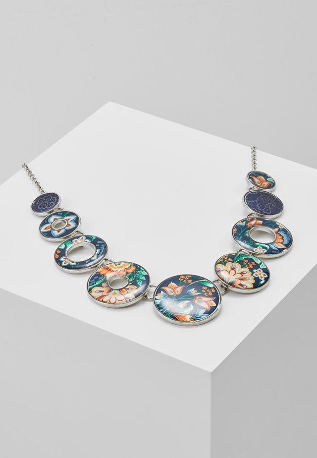 COLLAR KORA - Necklace - silver-coloured/blue