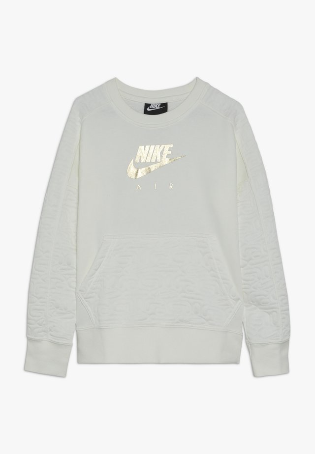 CREW - Sweatshirt - sail/metallic gold
