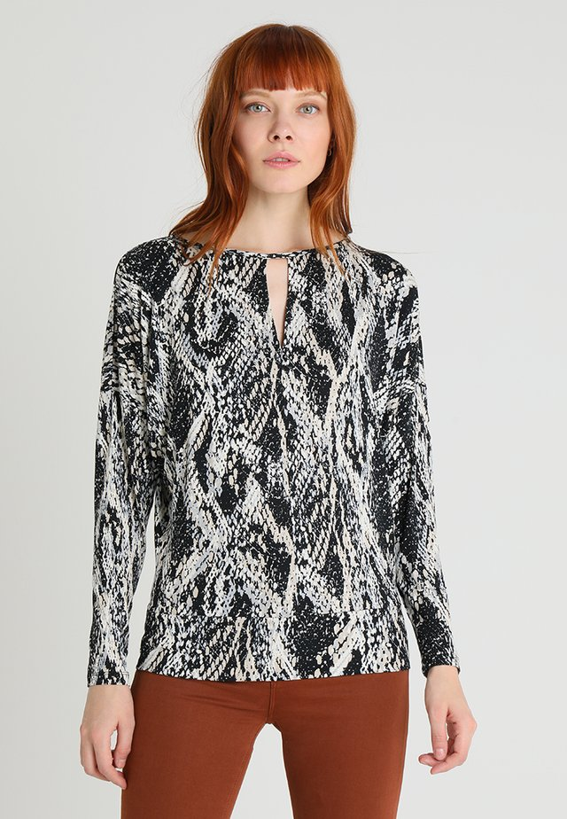 PYTHON  - Long sleeved top - grey
