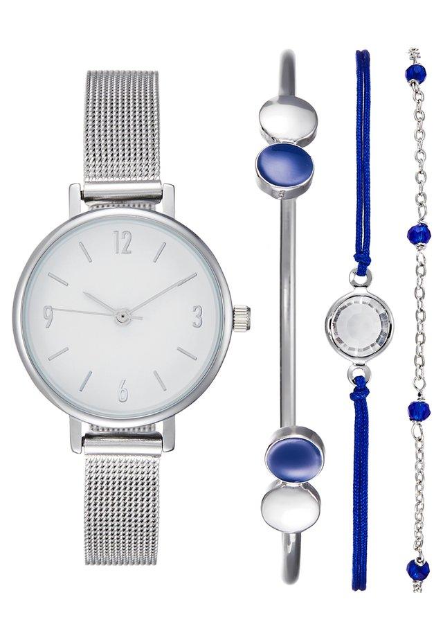 SET - Klokke - silver-coloured