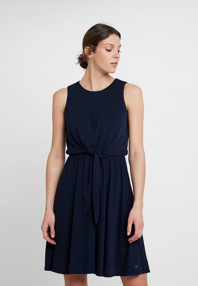 BARBARA KNOT DRESS - Jersey dress - blue