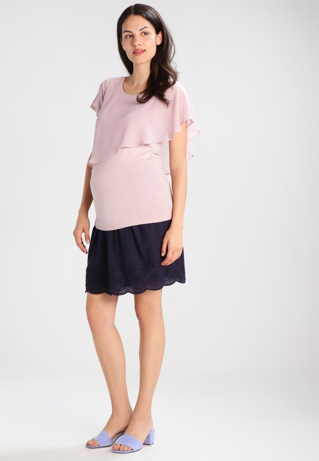 MEREDITH NURSING - Print T-shirt - blush
