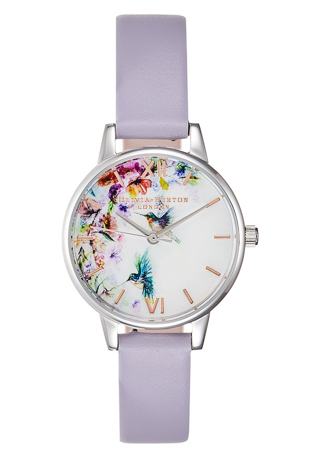 PAINTERLY PRINTS - Reloj - purple