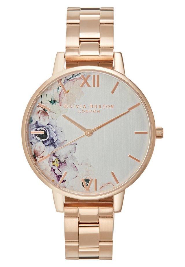 Horloge - rosegold-coloured
