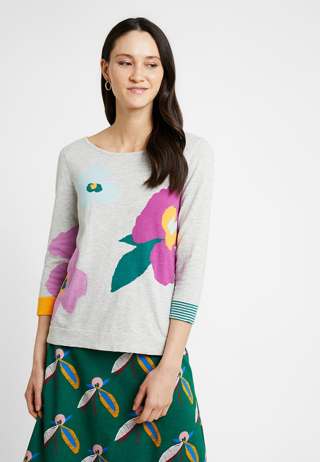 SUMMER BLOOM JUMPER - Jumper - grey