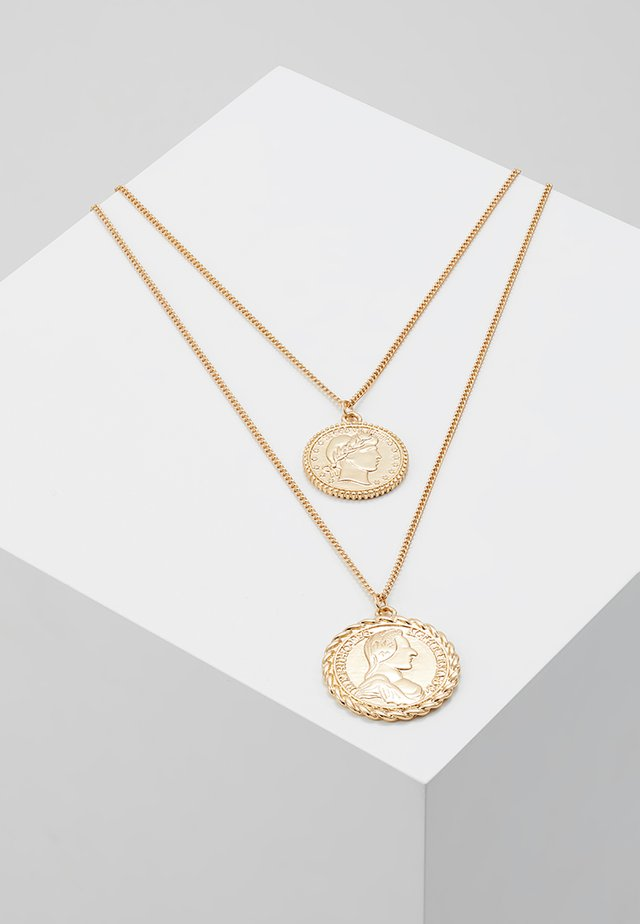 ONLKAREN COIN NECKLACE  - Ketting - gold-coloured