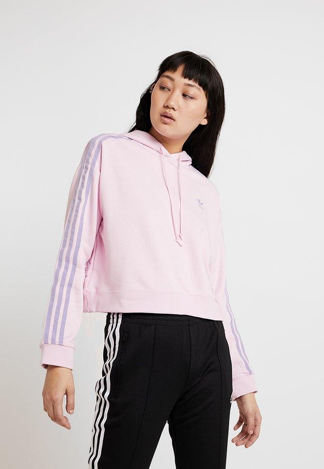 HOODIE - Bluza z kapturem - clear pink
