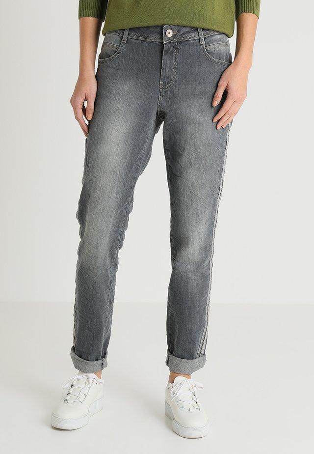 Jeansy Slim Fit - grey denim