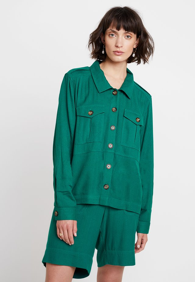 KAIDA - Button-down blouse - tidepool