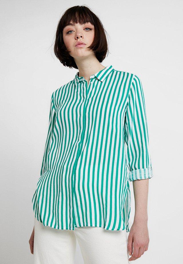 FABIANNE STRIPE - Camicia - fresh green combi