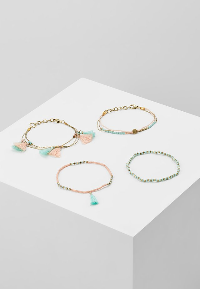 ONLELLY 4 PACK BRACELETS  - Bracelet - gold-coloured/morning mist