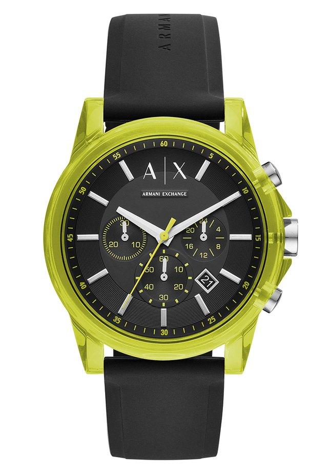 Zegarek chronograficzny - schwarz