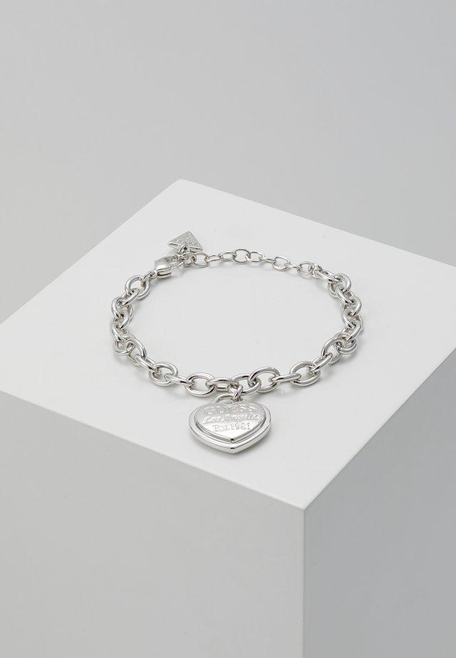 FOLLOW MY CHARM - Armband - silver-coloured