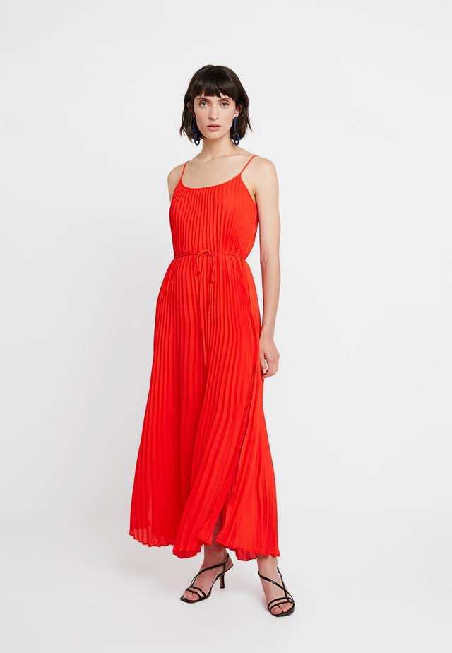 PLEATED SOLID - Maksimekko - hot red