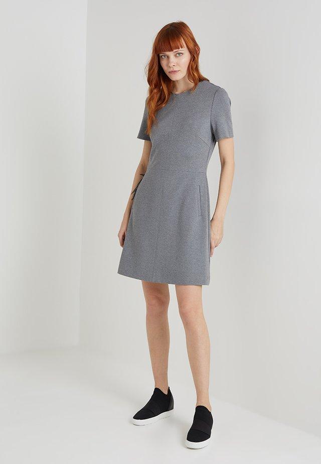 ARIELLE DRESS - Jersey dress - grey