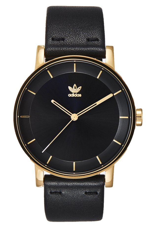 DISTRICT L1 - Horloge - gold-coloured/black sunray