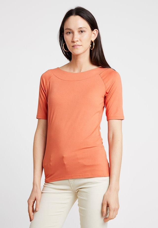 T-shirts basic - smooth orange