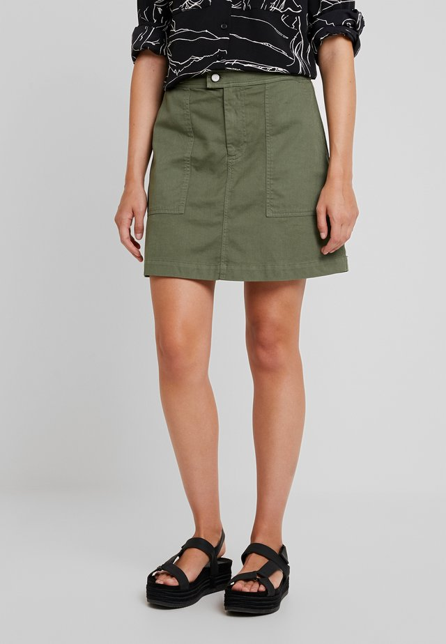 UTILITY SURPLUS MINI SKIRT FLIGHT - A-line skirt - flight jacket