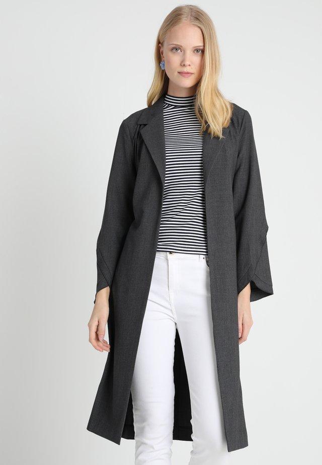 JULIE COAT - Trenchcoat - light grey melange
