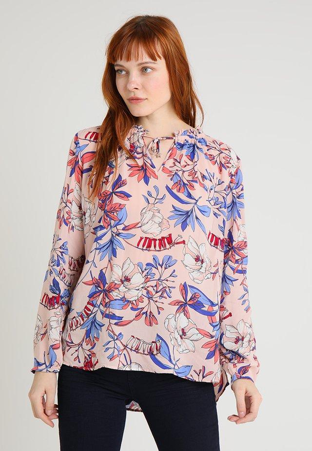 Tunic - rosé/blue