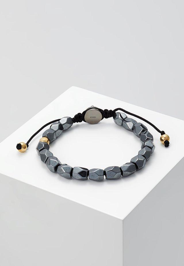 BEADS - Bracelet - grau