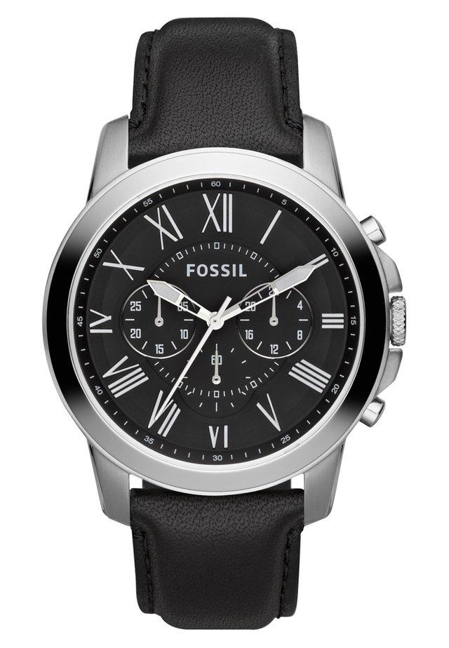 GRANT - Uhr - schwarz/silver-coloured