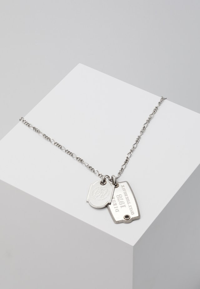 DOUBLE DOGTAGS - Halsband - silver-coloured