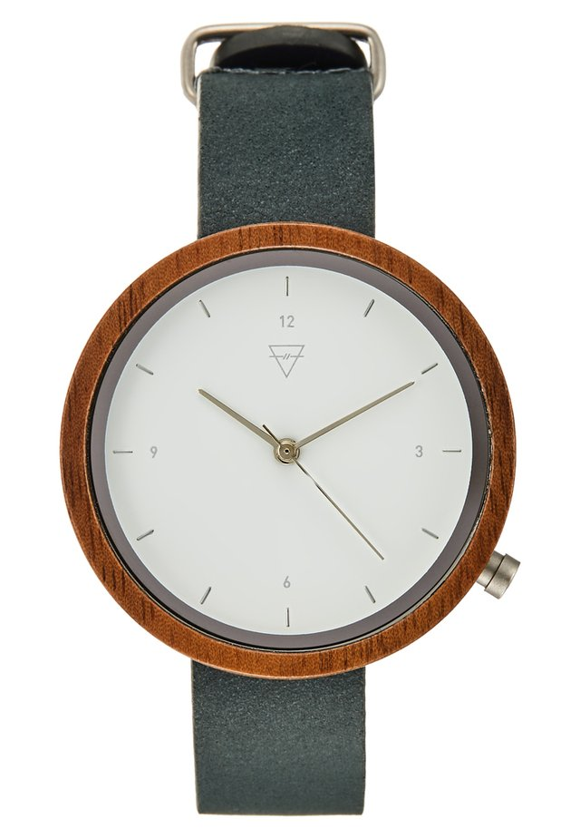 HILDE WALNUT - Montre - state blue