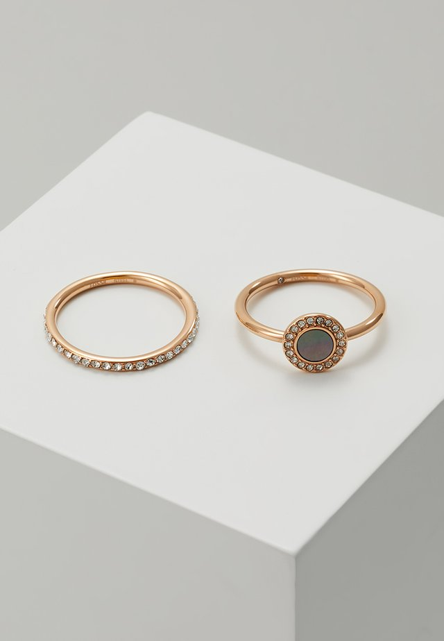 CLASSICS 2 PACK - Ring - roségold-coloured