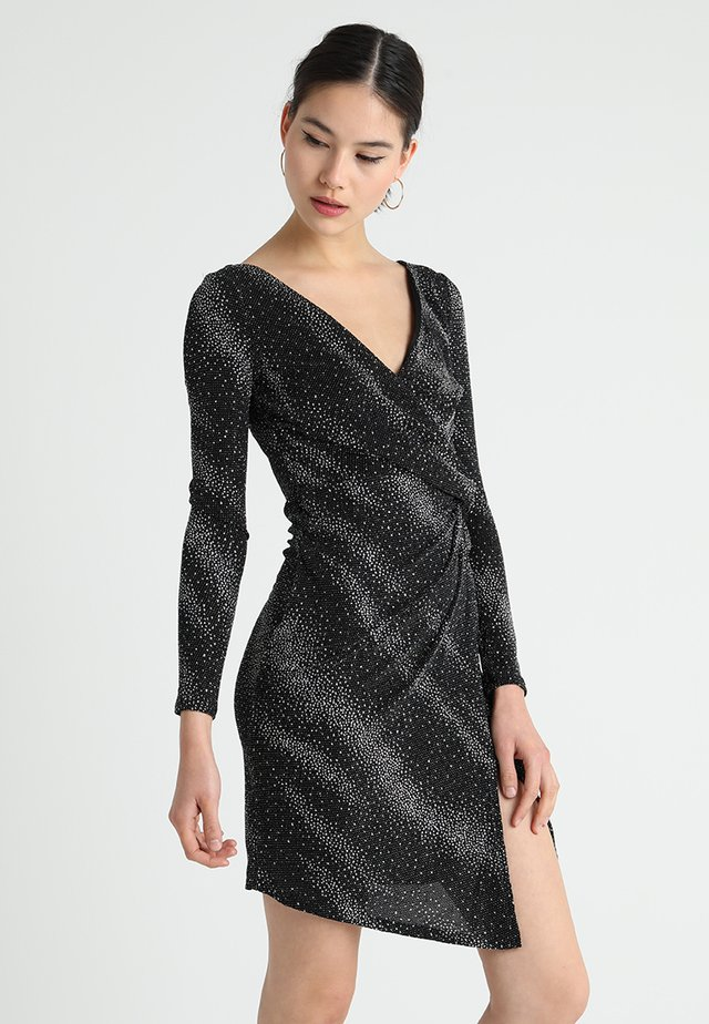 COBY - Shift dress - black
