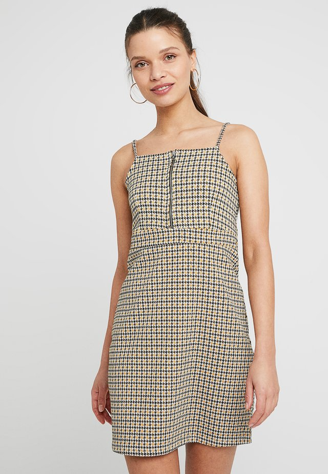 ZIP STRAPPY PINNY - Robe d'été - yellow