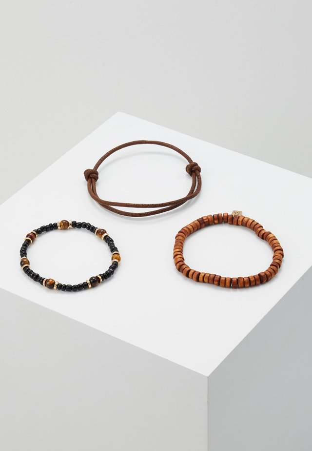 SHAKE UP COMBO - Pulsera - brown