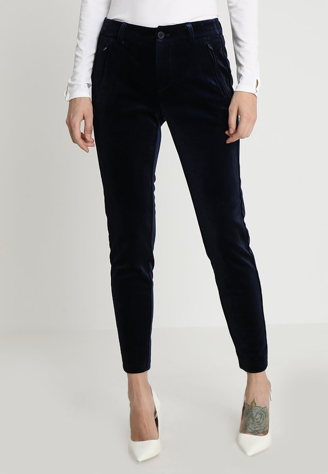 ANDORA PANTS TESSA FIT - Bukse - eclipse blue