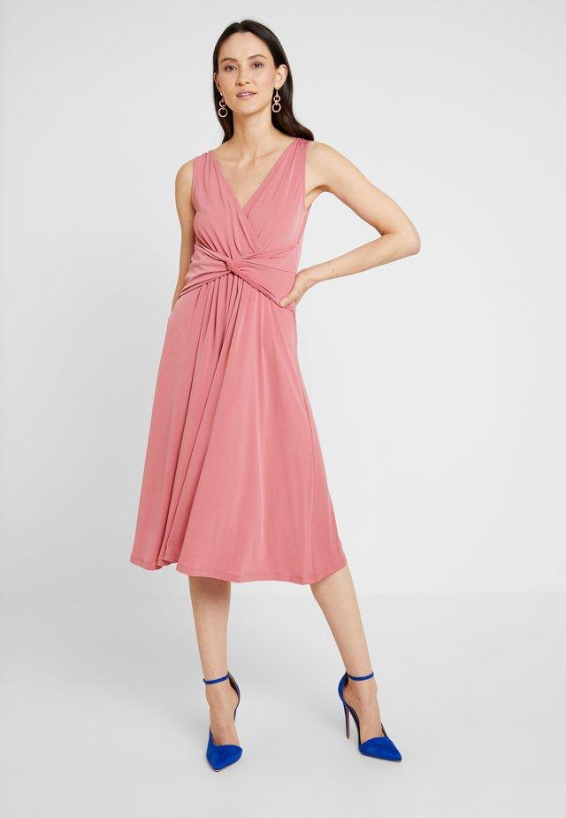 Jersey dress - mauvewood