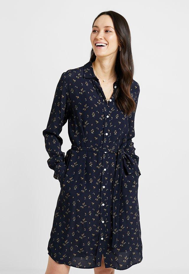 BREEZY HARVEST DRESS - Shirt dress - marine