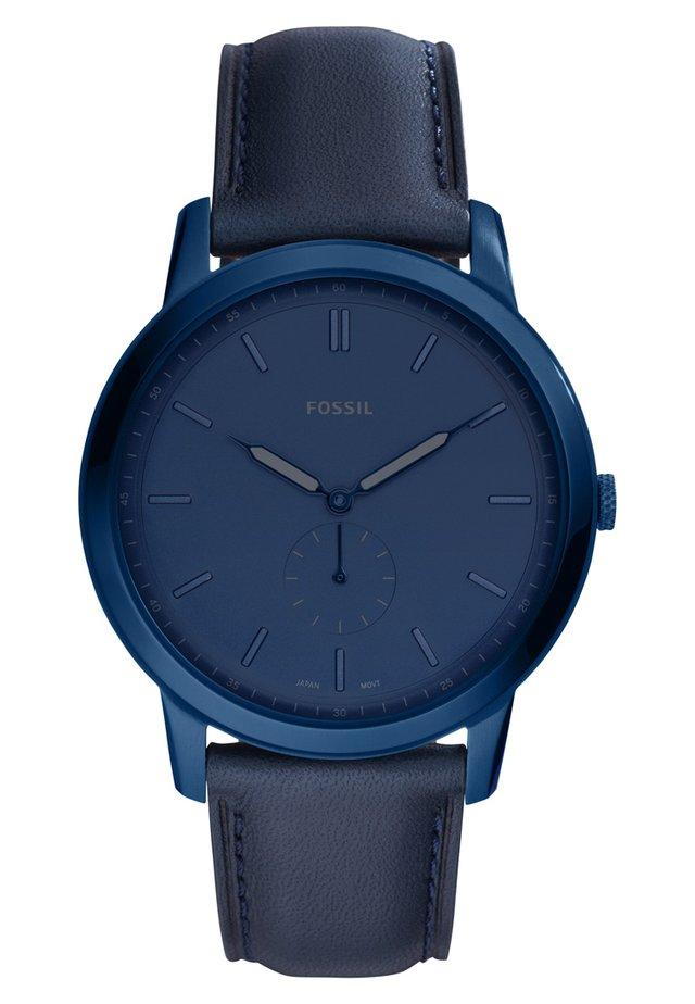 THE MINIMALIST MONO - Watch - blau
