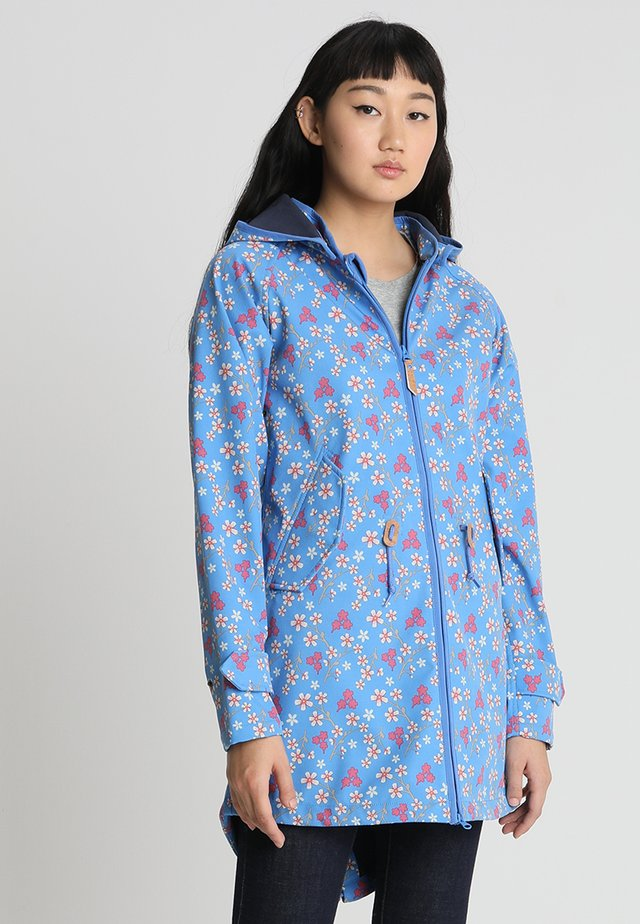 ISLAND FRIESE CHERRY BLOSSOM - Parka - regatta/navy