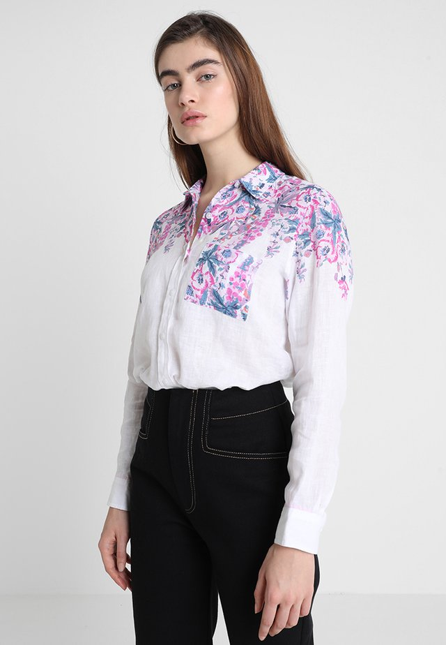 JEANNE - Button-down blouse - white