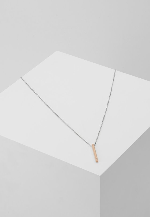ELIN - Necklace - silber-coloured/rosegold-coloured