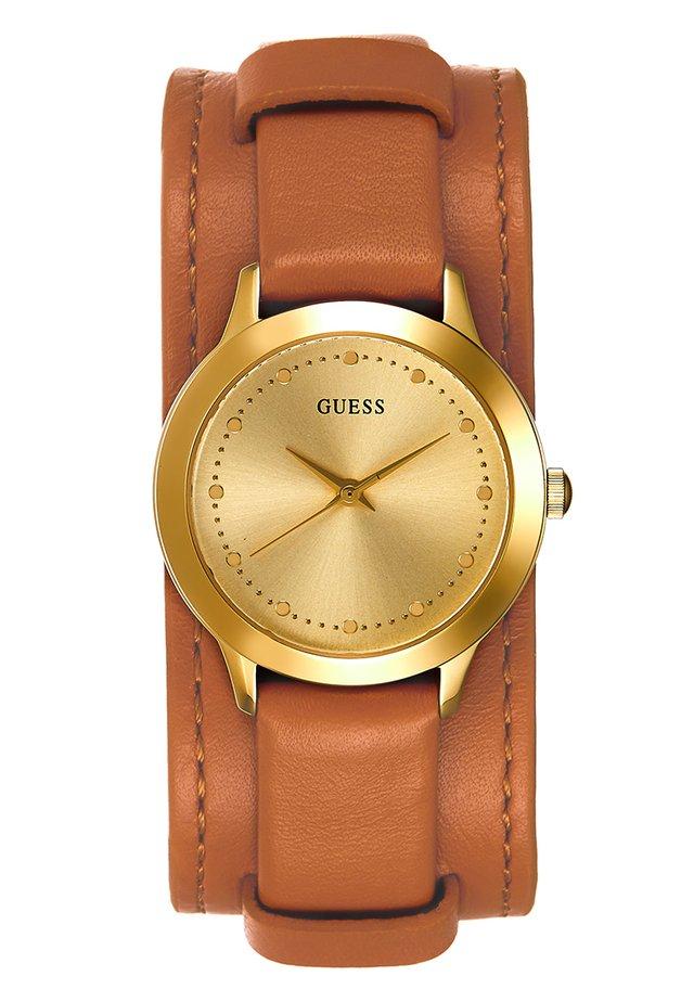 LADIES TREND - Watch - brown/gold